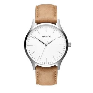 MVMT WHITE CARAMEL 40MM WATCH